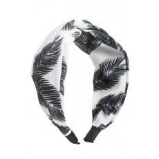 Φοίνικες Άσπρη Φαρδιά Στέκα Μαλλιών Στυλ Τουρμπάνι