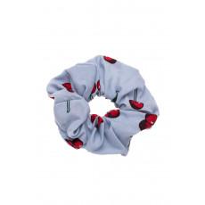 Γαλάζια Κεράσια Scrunchie Μαλλιών