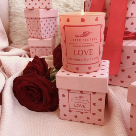 Love Valentineʻs Soy Candle Limited Edition