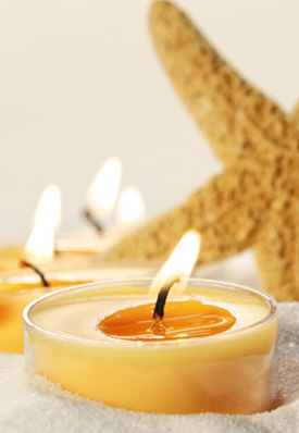 Aromatherapy - Natural candles